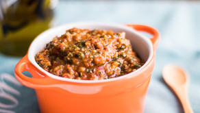 Sweet & Savory Sun Dried Tomato Pesto