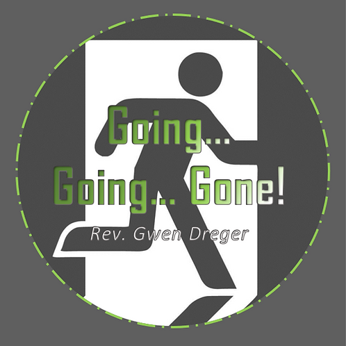 Going, Going, Gone - Single CD