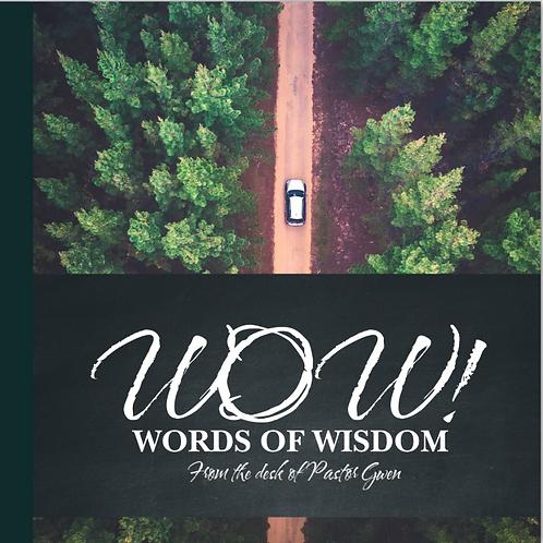 WOW: Words of Wisdom - Book