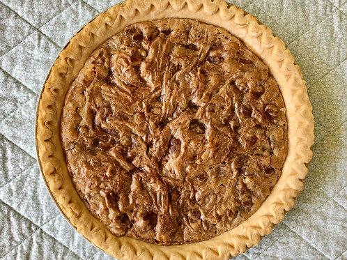 Walnut Cookie Pie