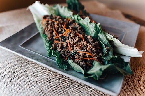 Beef Asian Lettuce Wrap Mixture