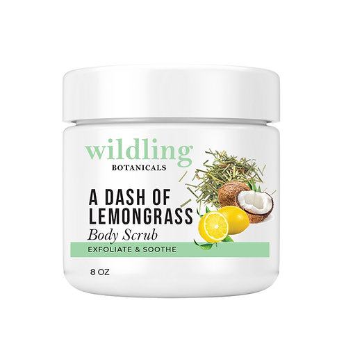 A DASH OF LEMONGRASS BODY SCRUB