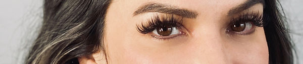 Eyelash Extensions on Real Person