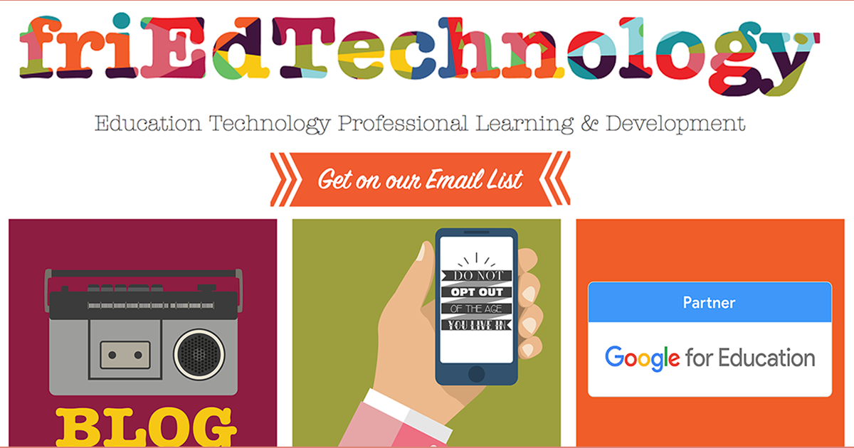 Professional Development | United States | friEdTechnology