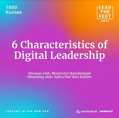 6 Characteristics of Digital Leadership