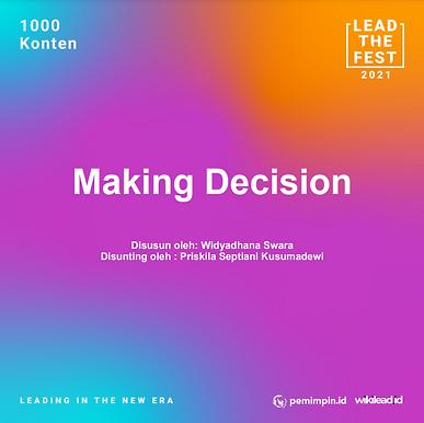 Making Decision