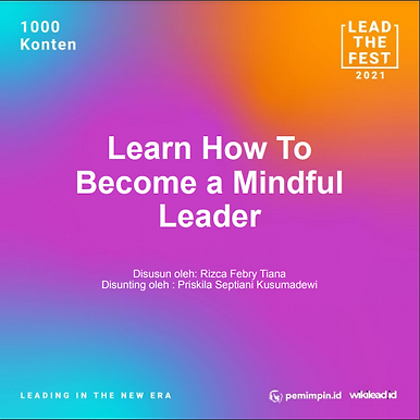 Learn How To Become a Mindful Leader