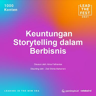 Keuntungan Storytelling dalam Berbisnis