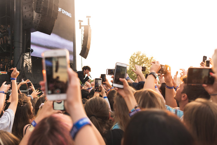 The 1975 at Governor's Ball