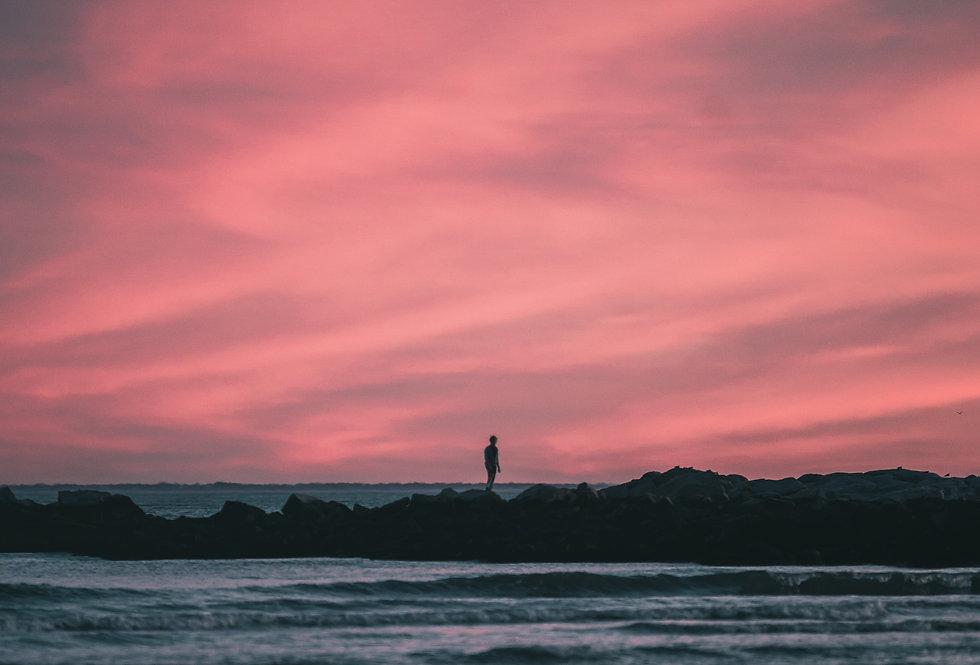 Sunset at Rocky Neck