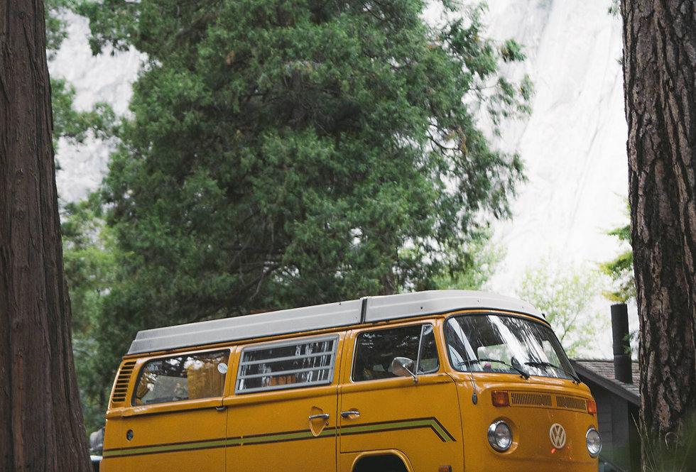 Yosemite Lights: Yellow Van