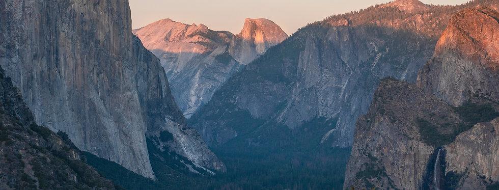 Yosemite Lights: Inspiration Point