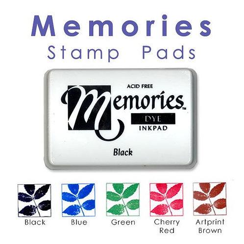 Memories Black Dye Ink Pad