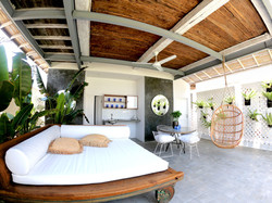 The Joglo Private Living Area