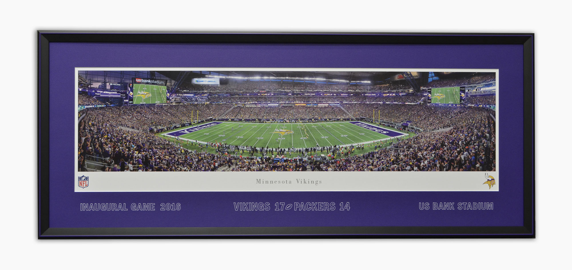 Vikings Inaugural Game Print
