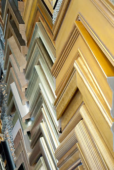 Gold and Silver Wood Frames