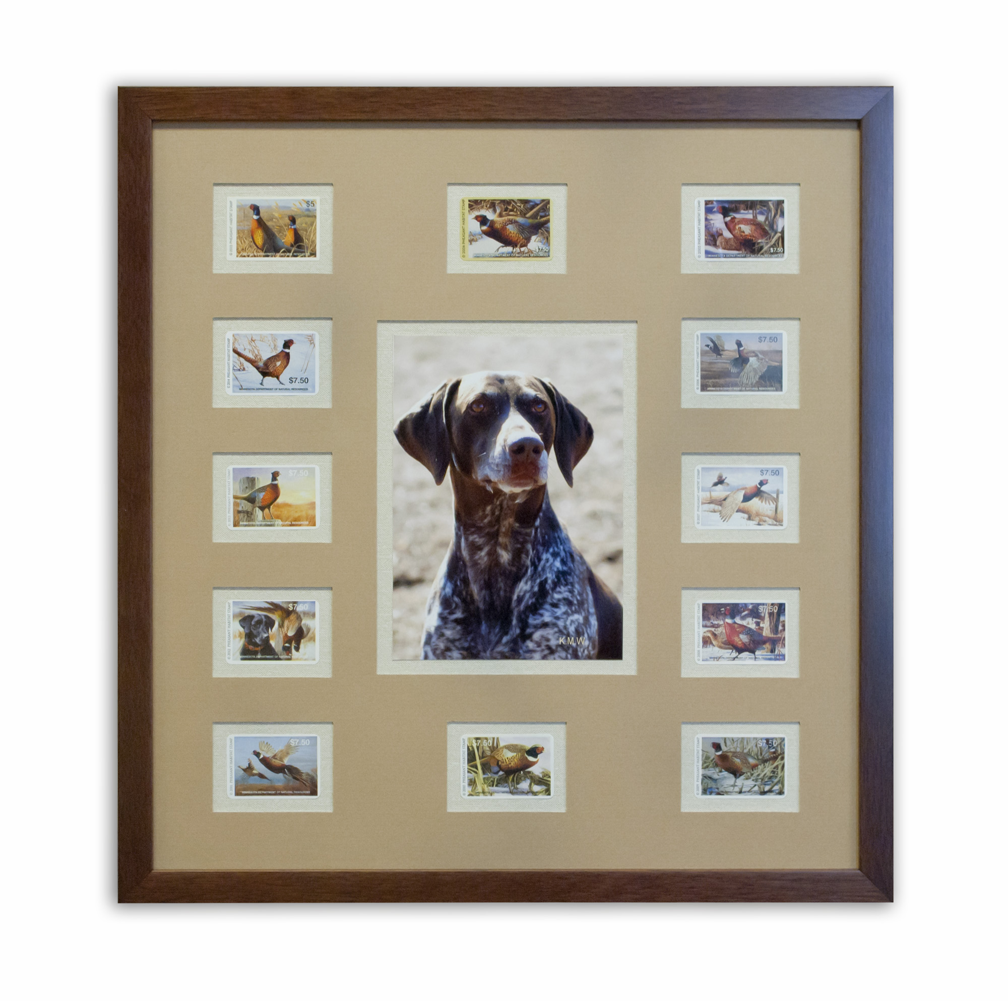 Dog & Pheasant Stamps