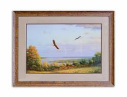 Eagles Over Lake Pepin