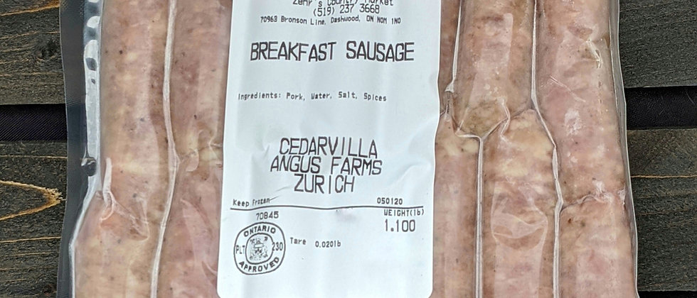 Breakfast Farmer's Sausage
