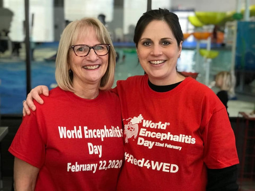 Jackie's Brain Walk makes the Top 22 Highlights from World Encephalitis Day