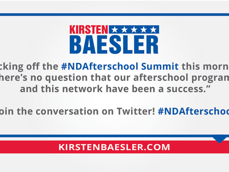 #NDAfterschool Network is a Success!