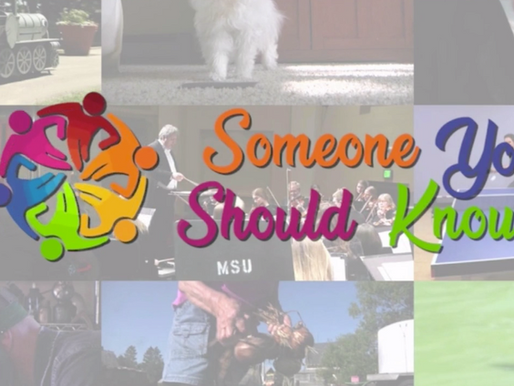 "Jackie was featured on the local CBS station's ""Someone You Should Know"""