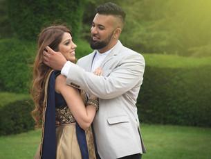 Geeta & Raj, pre-wedding photoshoot