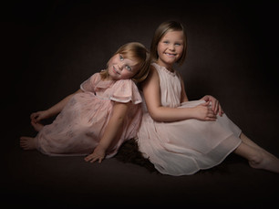 Evie and Lilly, family photoshoot