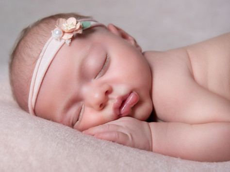 Grace, newborn photoshoot