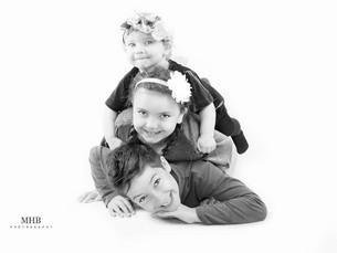 Ted, Florence & Frances, Family Photoshoot