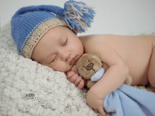 Sebastian, Newborn Photoshoot