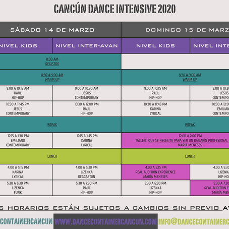 Cancún Dance Intensive 2020
