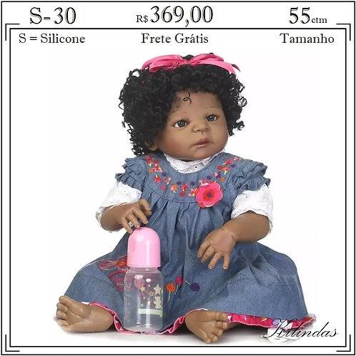 Boneca Silicone -S30