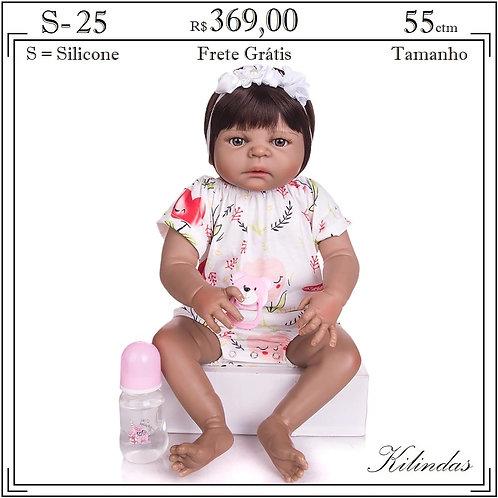 Boneca Silicone -S25