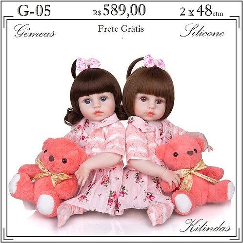 Gêmeas Silicone -G05