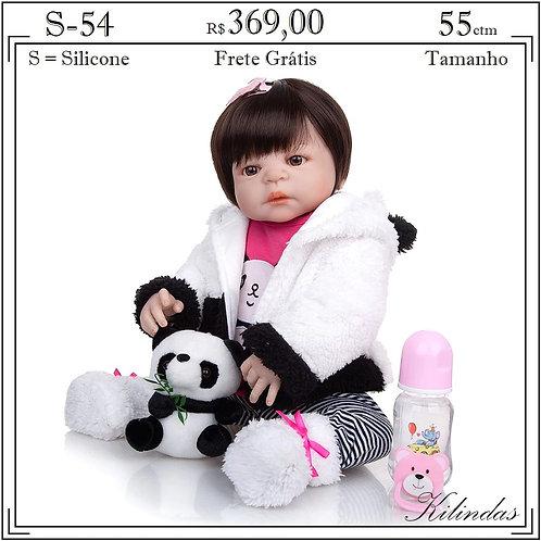 Boneca Silicone -S54