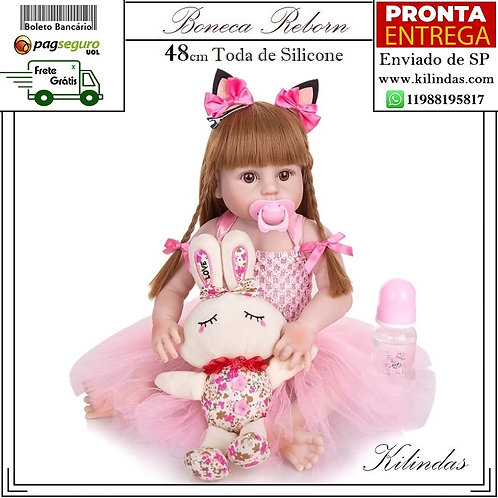 Boneca Silicone -S10 Pronta