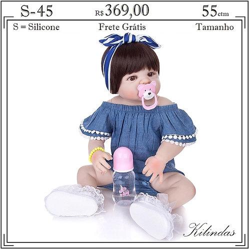 Boneca Silicone -S45