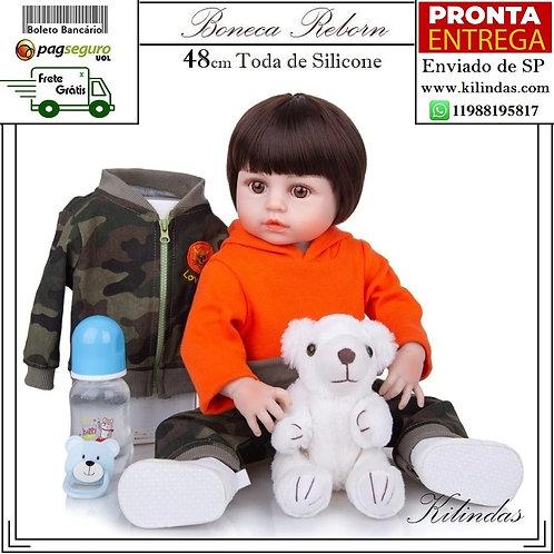 Boneco Silicone -S05 Pronta