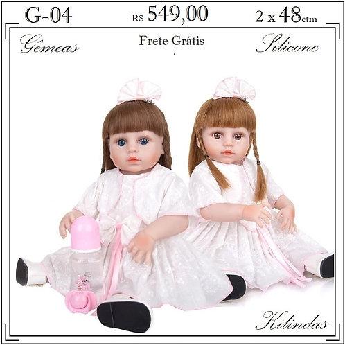 Gêmeas Silicone -G04