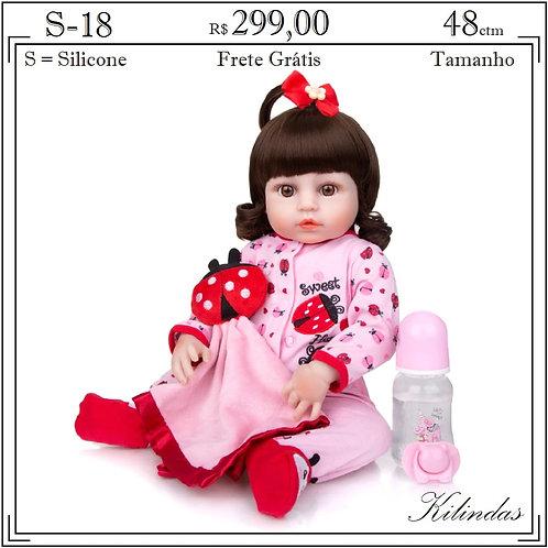 Boneca Silicone -S18