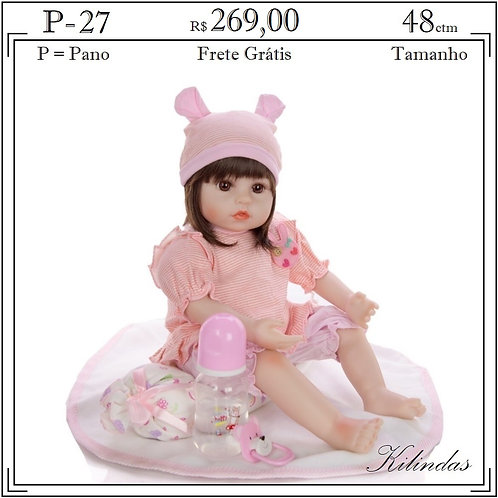 Boneca Pano -P27