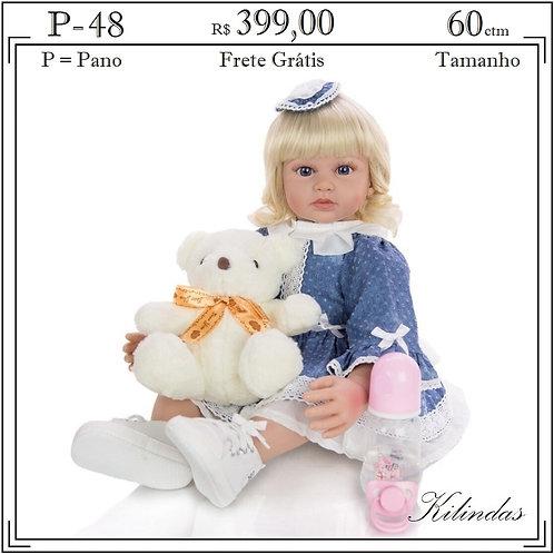 Boneca Pano -P48