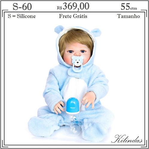 Boneca Silicone -S60