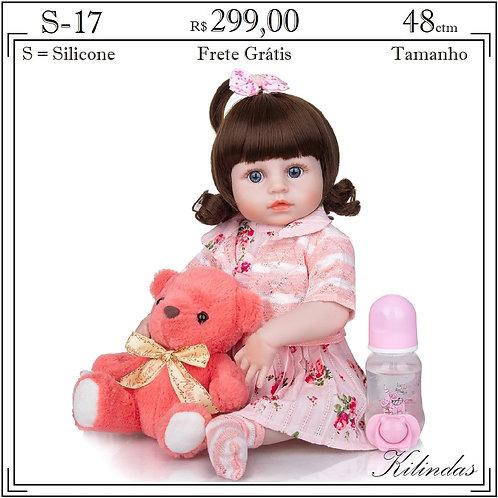 Boneca Silicone -S17