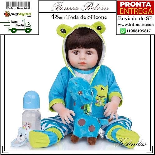 Boneco Silicone -S03 Pronta