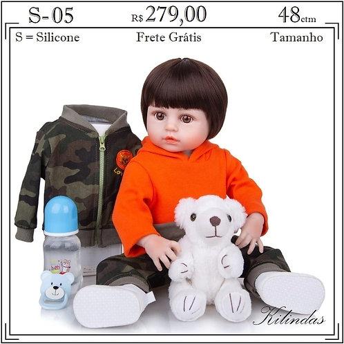 Boneca Silicone -S05