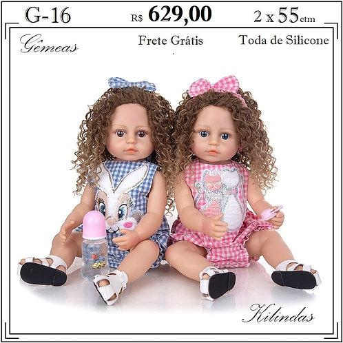 Gêmeas Silicone -G16