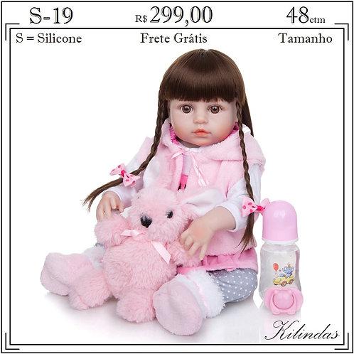Boneca Silicone -S19