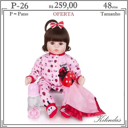 Boneca Pano -P26